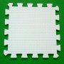 Модульное покрытие Жанетт белый 33х33 9 мм 9шт