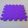 Модульное покрытие Жанетт фиолетовый 33х33 9 мм 9шт