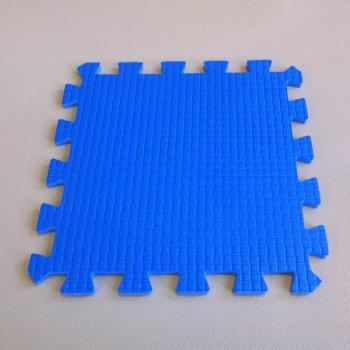 Модульное покрытие Жанетт голубой 33х33 9 мм 9шт