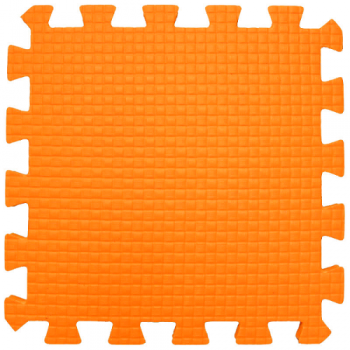 Модульное покрытие Жанетт оранжевый 33х33 9 мм 9шт