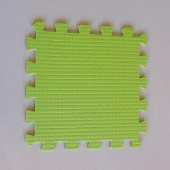 Модульное покрытие Жанетт салатный 33х33 9 мм 9шт
