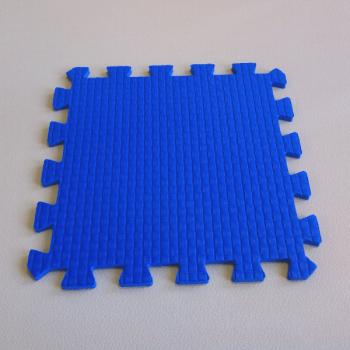 Модульное покрытие Жанетт синий 33х33 9 мм 9шт