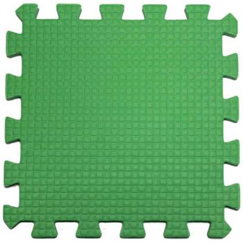 Модульное покрытие Жанетт зеленый 33х33 9 мм 9шт