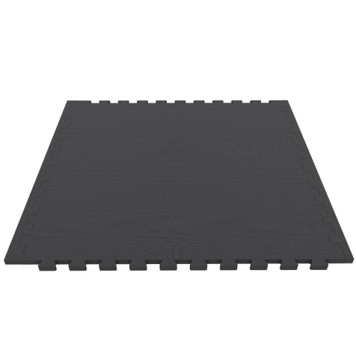 Модульное спортивное покрытие 100х100 см 20 мм 70 шор