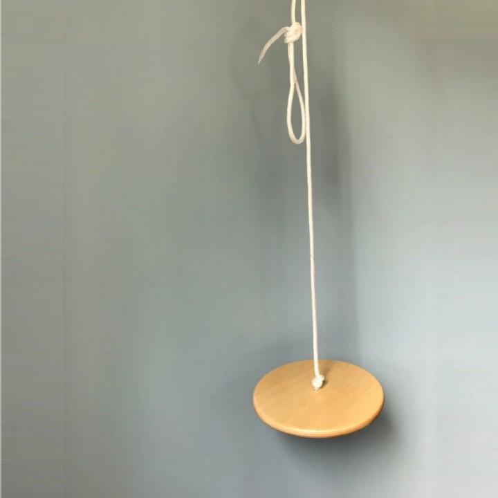 Качели подвесные Диск-тарзанка 25 см