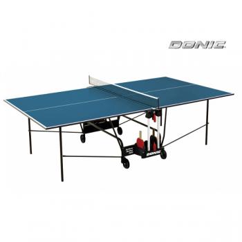 Теннисный стол для помещений DONIC INDOOR ROLLER 400 BLUE 230284-B