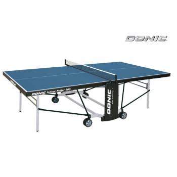 Теннисный стол для помещений DONIC INDOOR ROLLER 900 BLUE 230289-B