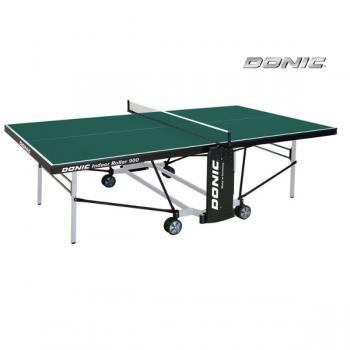 Теннисный стол для помещений DONIC INDOOR ROLLER 900 GREEN 230289-G