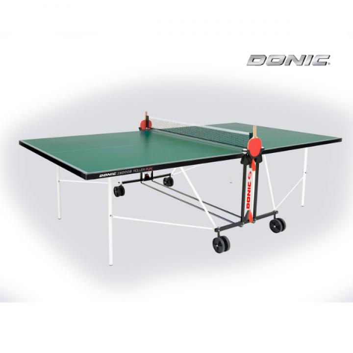 Теннисный стол для помещений DONIC INDOOR ROLLER FAN GREEN 230235-G