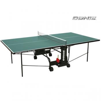 Теннисный стол всепогодный OUTDOOR ROLLER 600 зеленый DONIC 230293-G