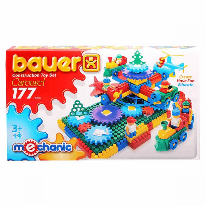Конструктор Карусель 177 деталей Bauer 186
