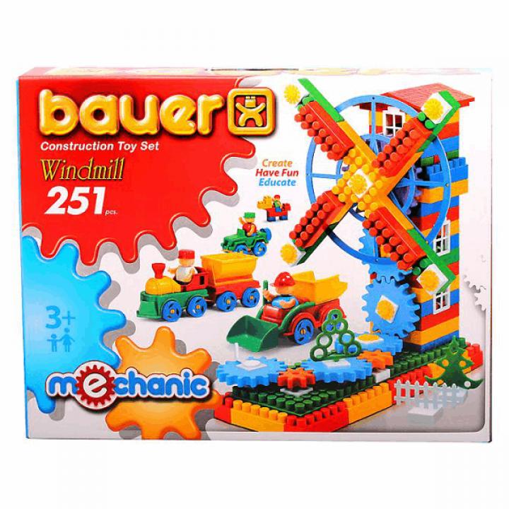 Конструктор Мельница 251 деталь Bauer 187