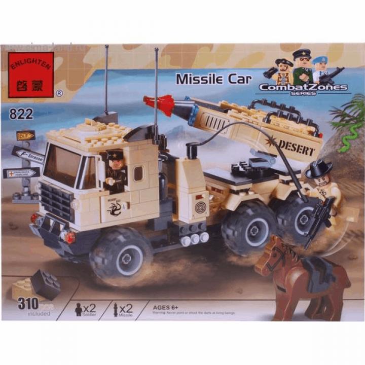 Конструктор Военная машина 310 деталей Enlighten Brick 822*