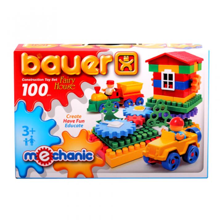 Конструктор Избушка 100 деталей Bauer 188
