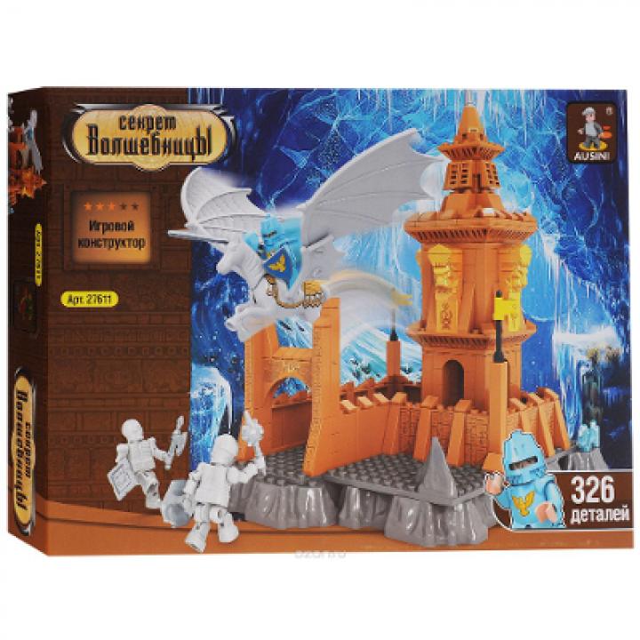 Конструктор Магическая область Замок 326 деталей Ausini 27611