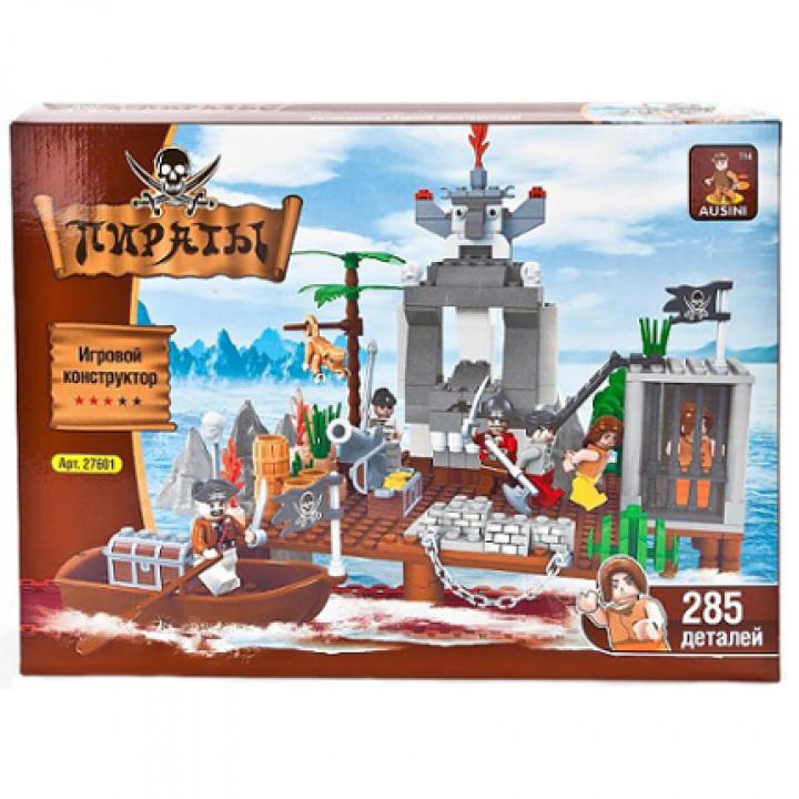 Конструктор Пираты 285 деталей Ausini 27601