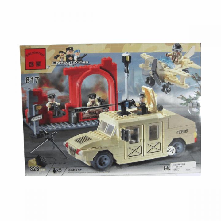 Конструктор Военная база 323 детали Enlighten Brick 817*