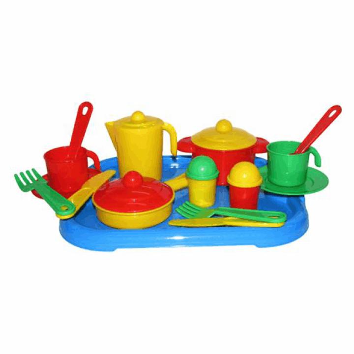 Набор посуды на 2 персоны Настенька Полесье 3940