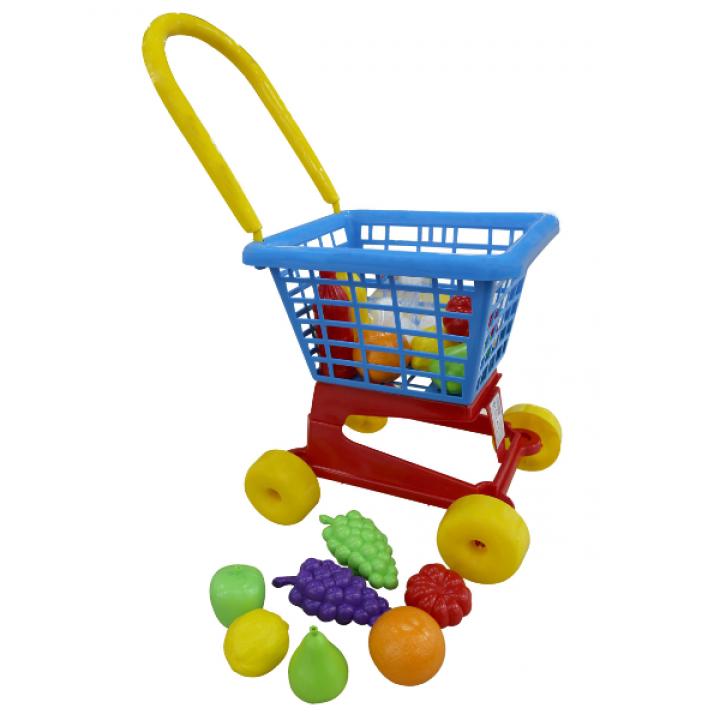 Тележка Супермаркет №1 с набором продуктов Полесье 42989