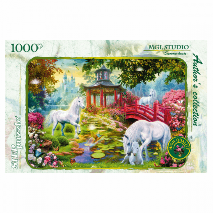 Пазл Летняя идилия MGL Studio 1000 деталей Степ Пазл 79509