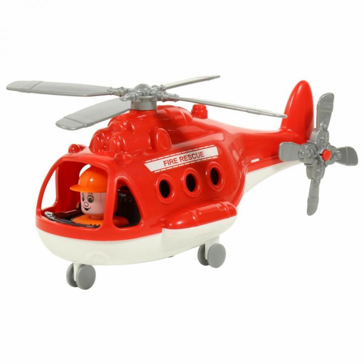Вертолет пожарный Альфа Полесье 72382