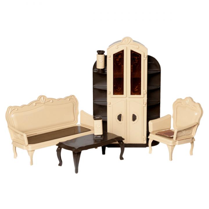 """Кукольная мебель для гостинной """"Коллекция"""" Огонек С-1299"""