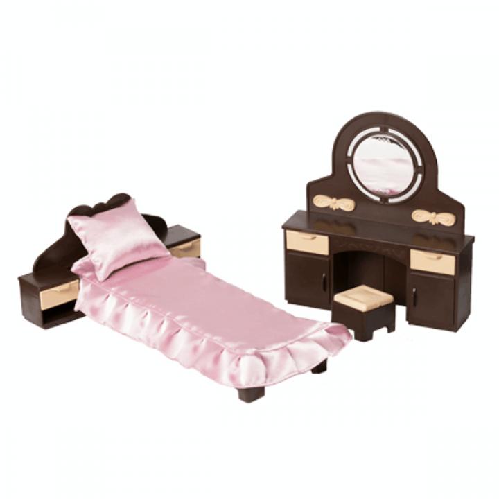 """Кукольная мебель для спальни """"Коллекция"""" Огонек С-1303"""
