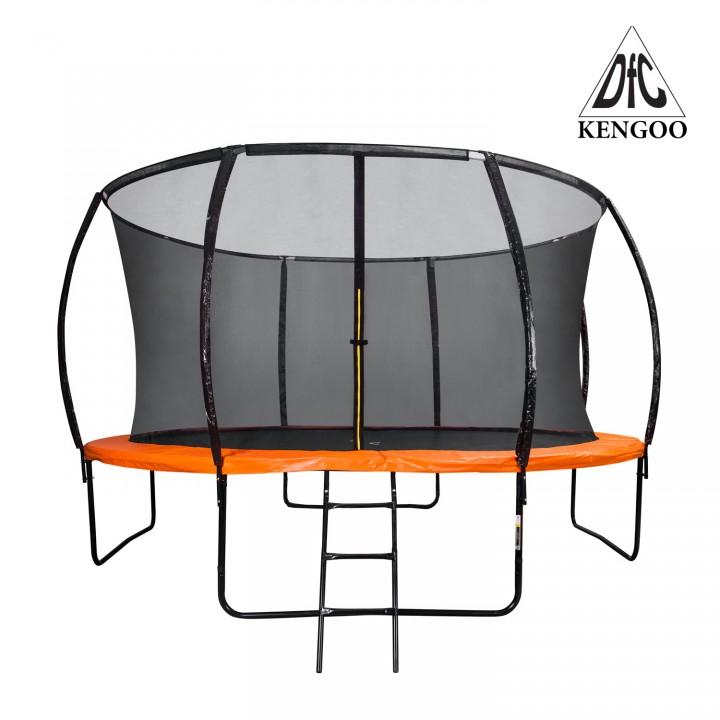 Батут с защитной сеткой DFC Trampoline Kengoo 10FT-BAS-BO