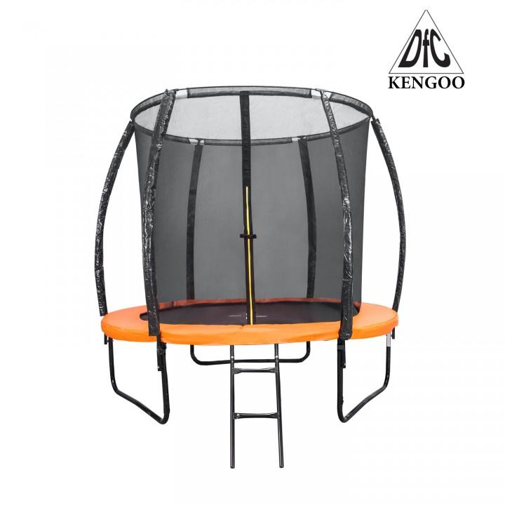 Батут с защитной сеткой DFC Trampoline Kengoo 8FT-BAS-BO