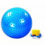 Мяч гимнастический (массажный) с насосом Easy Body 1766EG-2 65 см