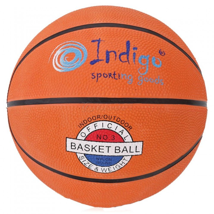 Мяч баскетбольный Indigo TBR-7300 р.3