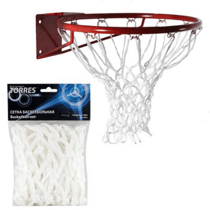 Сетка баскетбольная белая Torres SS110105