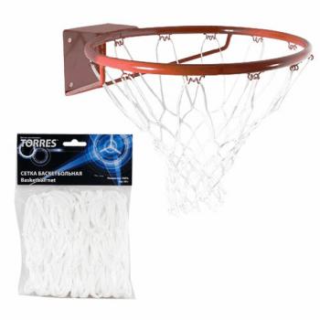 Сетка баскетбольная белая Torres SS11055