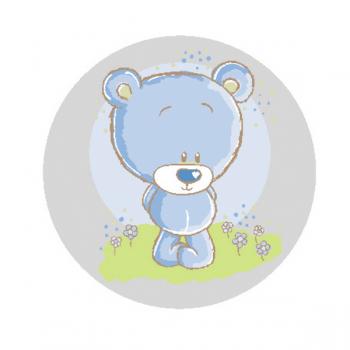 """Светоотражающий значок """"Медведь"""""""