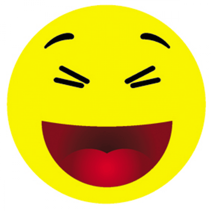 """Светоотражающий значок """"Смайл с улыбкой"""""""