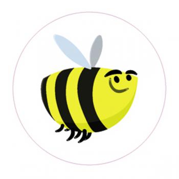 "Светоотражающий значок ""Пчела"""