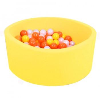 Детский сухой бассейн Kampfer Pretty Bubble желтый