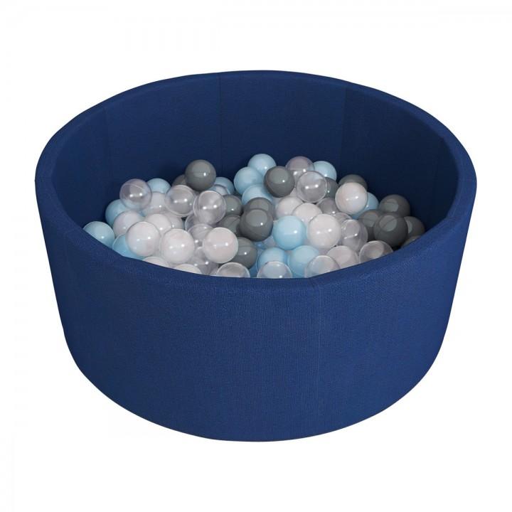 Сухой бассейн ROMANA Airpool 150 шариков темно-синий