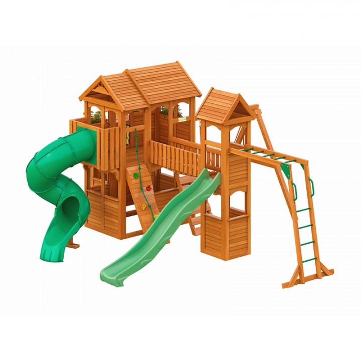 Детская игровая площадка IgraGrad Клубный домик Макси с трубой