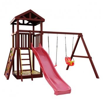 Детская игровая площадка IgraGrad Панда Фани Gride с большим скалодромом