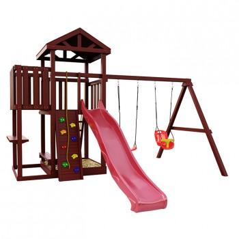 Детская игровая площадка IgraGrad Панда Фани с балконом