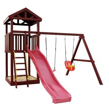 Детская игровая площадка IgraGrad Панда Фани Tower с качельным модулем