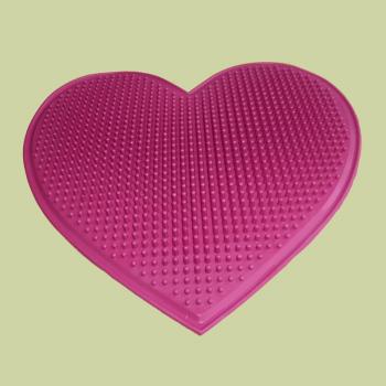 Коврик массажный Сердце подарочный (1301)