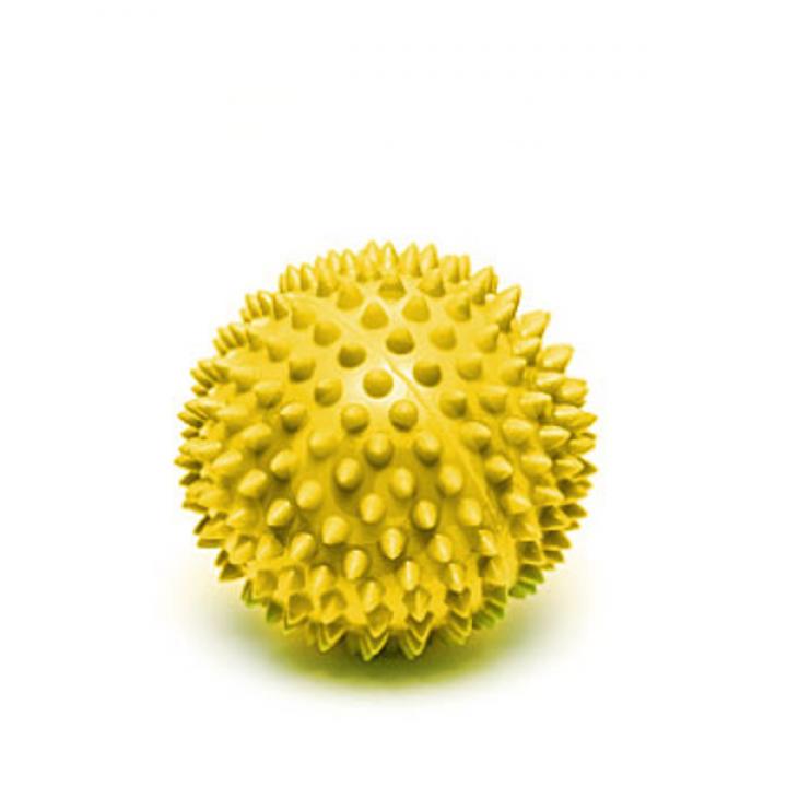 Мяч массажный Larsen SM-4 7см желтый