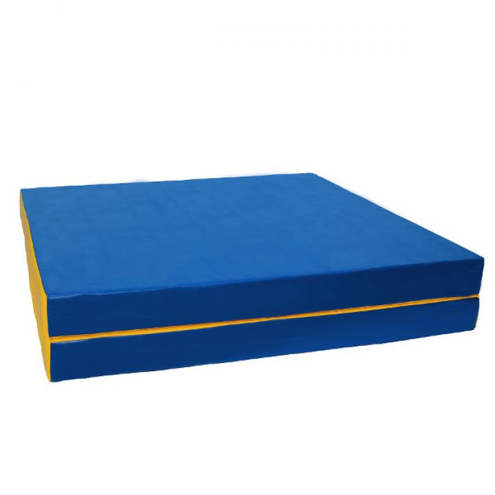 Мат гимнастический 100x150x10 см складной (2 слож)