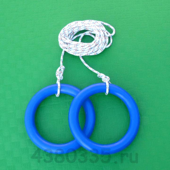 Кольца гимнастические (пара) Plastep