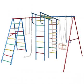 Спортивный комплекс для дачи Вертикаль А+П макси