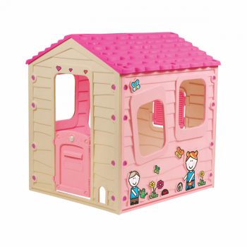 Домик игровой розовый Starplast 90-561