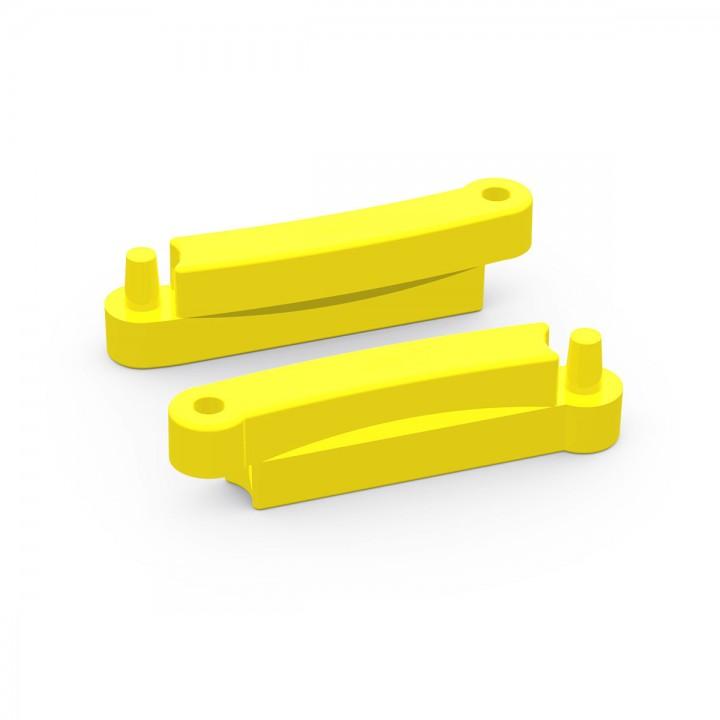 Элемент модульной песочницы Полимер 1200 желтый