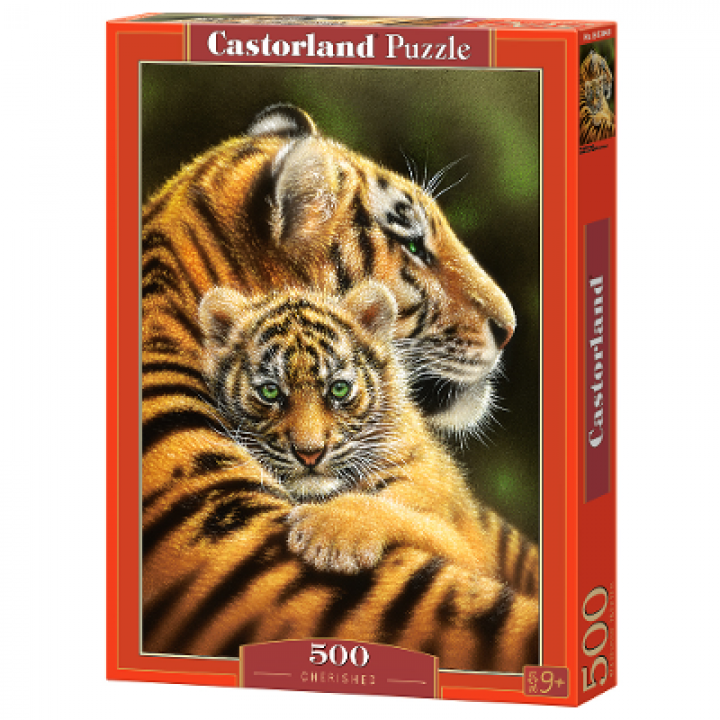 Пазл Тигры 500 деталей Castorland B-52448